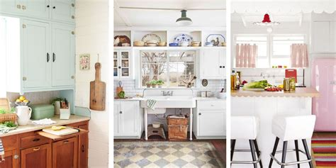 antique kitchen decorating ideas 20 vintage kitchen decorating ideas design inspiration for retro kitchens