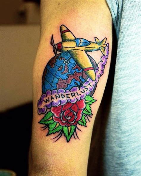 never seen before tattoo designs 67 spectacular airplane tattoos designs you never seen before