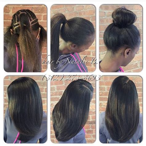7 braid sewin for white persons hair your sew in hair weave should be this natural looking and