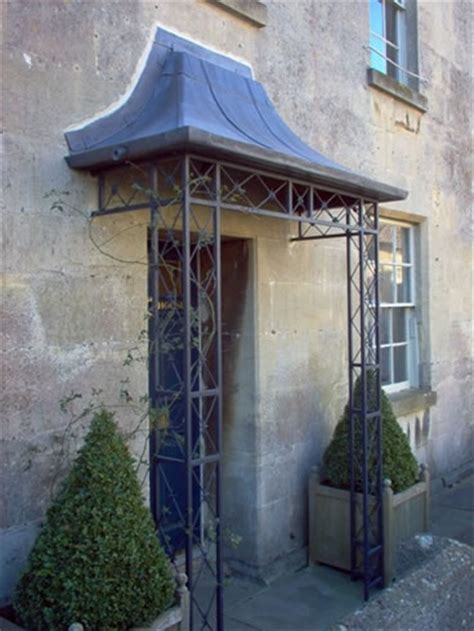 Wrought Iron Porches wrought iron and lead porch colerne high ironart of bath