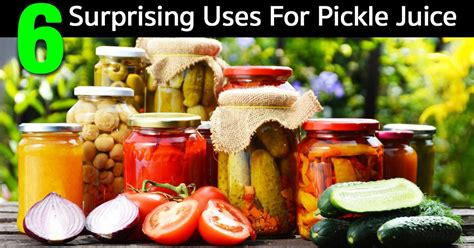 Pickle Juice Detox by 6 Surprising Uses For Pickle Juice