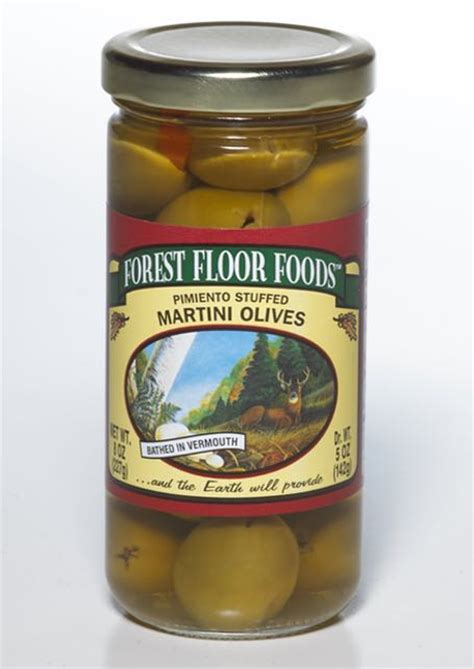 Forest Floor Foods by Pimiento Stuffed Martini Olive Forest Floor Foods