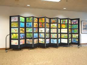 affordable education display system screenflex room
