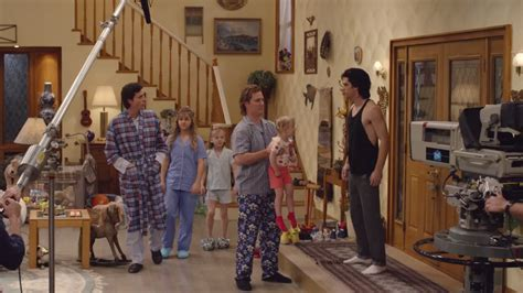 who lives in the full house house full house star lifetime biopic is like a saturday night live spoof