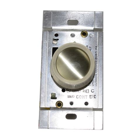 dimmer switch for fluorescent lights lutron fca 1u fluorescent lighting station rotary