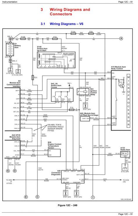 vs commodore ute stereo wiring diagram new wiring
