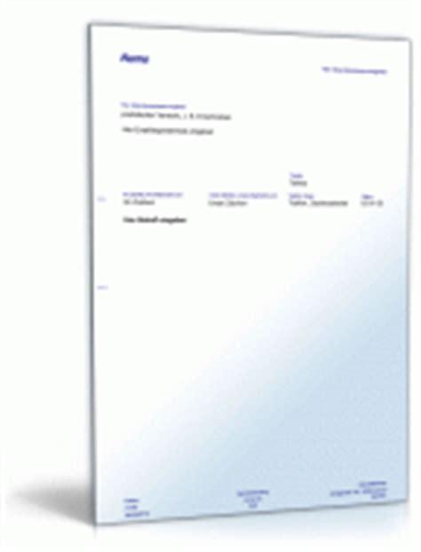 Kfz Versicherung K Ndigen Verkauf by Werkstattauftrag F 252 R Kfz Reparatur Muster Vorlage Zum