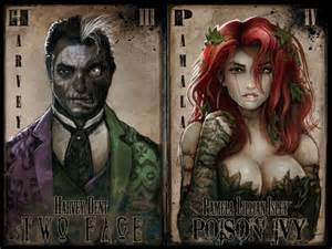 Scarecrow dc comics two face the riddler mr freeze the penguin harley