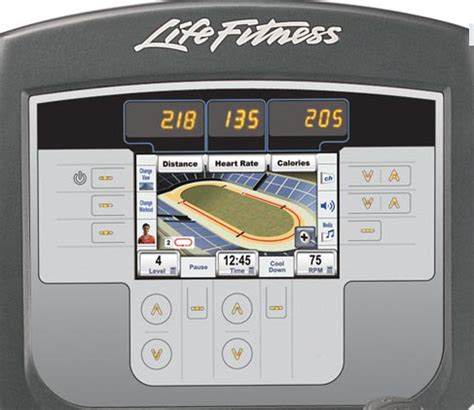 biography features display life fitness 95x inspire elliptical cross trainer