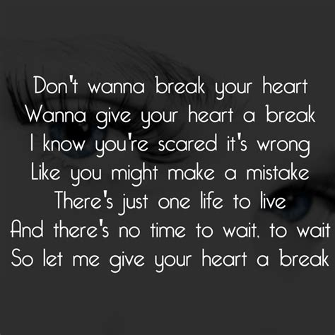 lyrics to demi lovato give your heart a break 39 best images about lyrics on pinterest heart attack