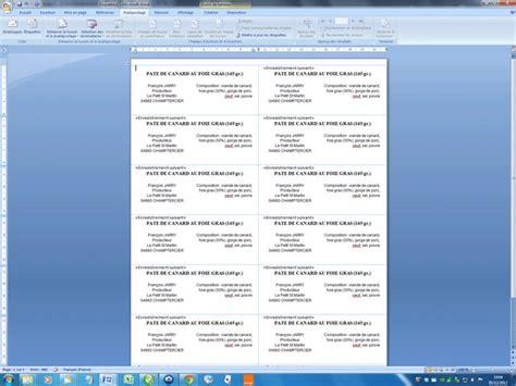 format etiquette cd word cr 233 er des 233 tiquettes word 2007 word 2010 aidewindows net