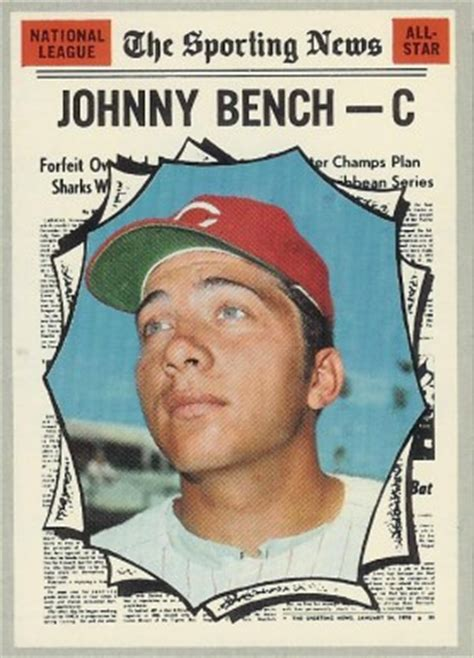how much is a johnny bench baseball card worth 1970 topps johnny bench 464 baseball card value price guide