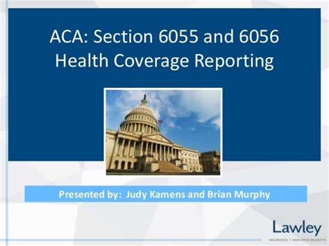 section 6055 and 6056 affordable care act aca reporting requirements forms