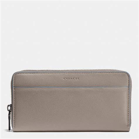 Coach Wallet Zip 8803 coach mens wallets 1941 accordion zip wallet in glovetanned leather