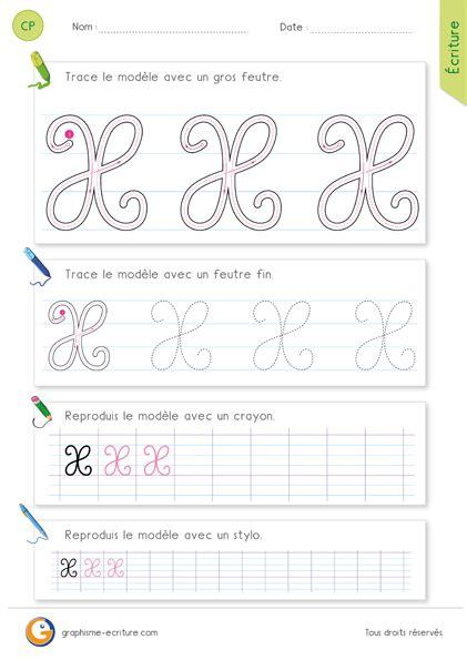 lettere corsive maiuscole apprendre 224 233 crire la lettre x majuscule cursive