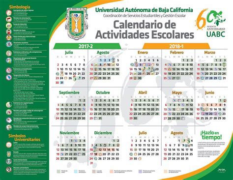 calendario uabc 2016 1 instituto de ingenier 237 a uabc calendario de actividades