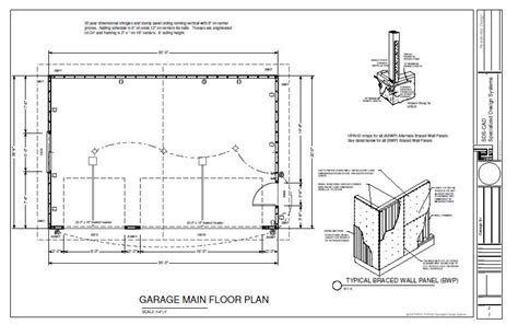 garage floor plans free 20 x 30 house plan homedesignpictures