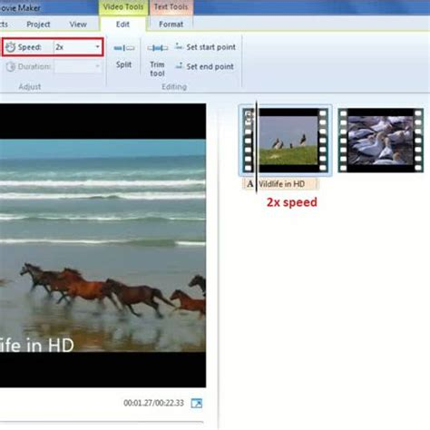 windows movie maker tutorial slow motion how to speed up and add a slow motion effect in a video