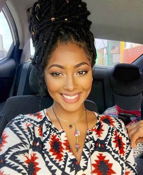what hair is best to use for goddess braids pinterest lelothereal1 natural hair pinterest locs