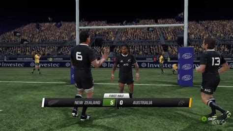 wallabies rugby challenge 2 rugby challenge 2 all vs wallabies gameplay hd