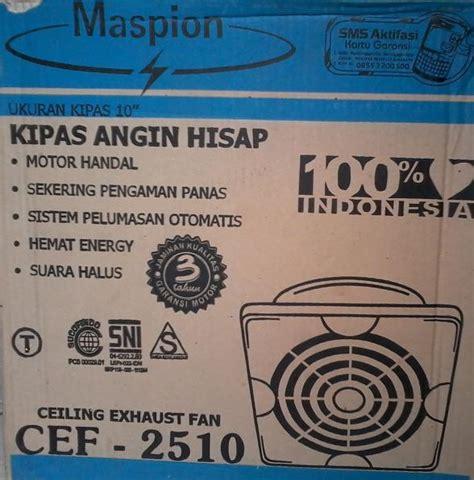 Maspion Ceiling Fan 8 Inch Cef 20 exhaust fan kipas exhaust sedot sinar service