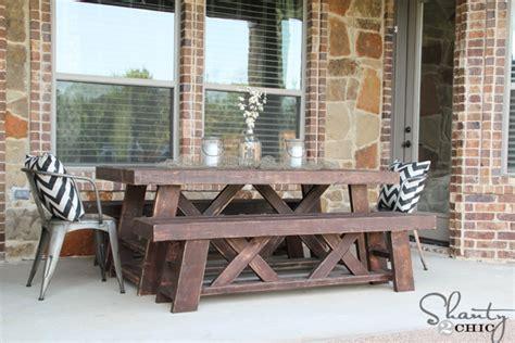 Diy Outdoor Dining Table Diy Outdoor Dining Table Diy Large Outdoor Dining Table Seats 10 12 Hometalk With Diy