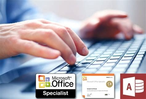 Access Specialist by Microsoft Office Specialist Access Certification Onlinetrainingcourseacademy