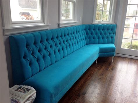 Custom Made Banquette Seating custom banquette seating contemporary furniture chicago by covers unlimited corporation