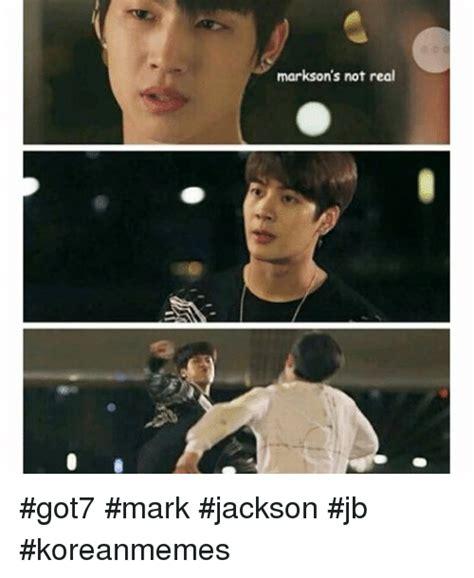 mark jackson meme markson s not real got7 mark jackson jb koreanmemes
