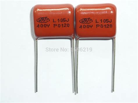 aliexpress buy 10pcs cbb capacitor 105 400v 105j 1uf 1000nf p15 cbb21 metallized