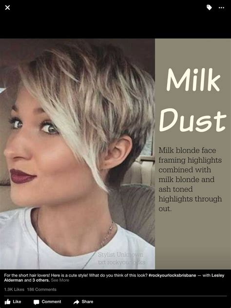 pixie highlights ideas  pinterest