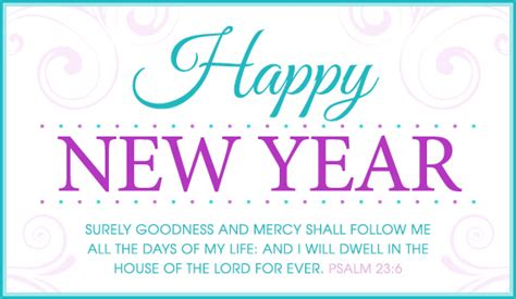 free psalm 23 6 kjv ecard email free personalized new year cards