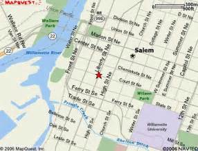 downtown salem oregon map