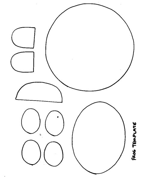 templates for crafts frog craft template www imgkid com the image kid has it