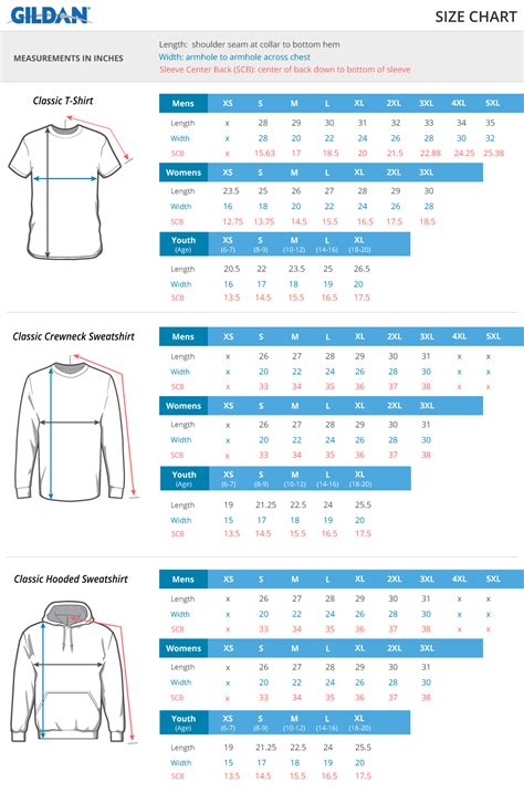 design by humans size guide blank apparel size charts