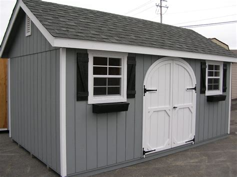 Doors For Garden Sheds by Wooden Shed Exterior Wood Shed Paint