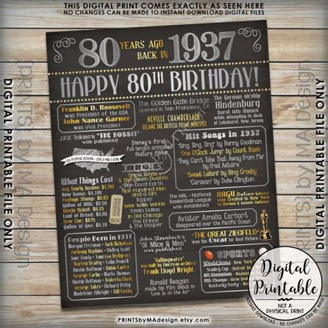 Tidbitsits The Top Tidbits From Th by 25 Best Ideas About 80th Birthday Decorations On