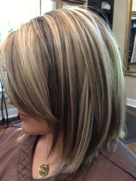 low lighting in blond short hair image result for dark roots with blonde highlight and low