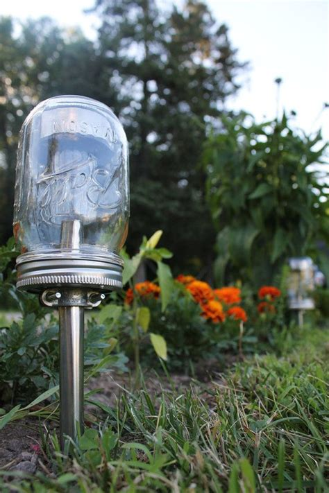 diy solar lights outdoor solar powered mason jar lights eco friendly mason jar