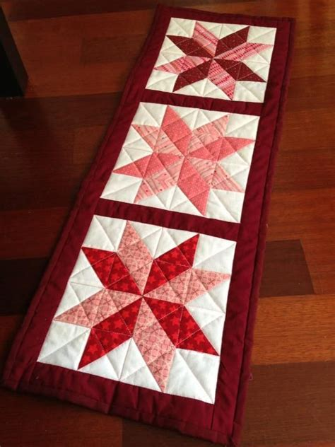 Patchwork Table Runner Patterns - 25 unique quilted table runners ideas on