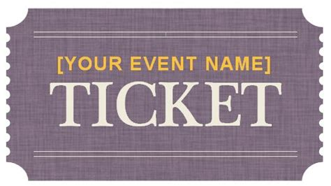 Astounding Generic Ticket Template Event Templates Formal Word Free Clipart Prom Ticket Template Free