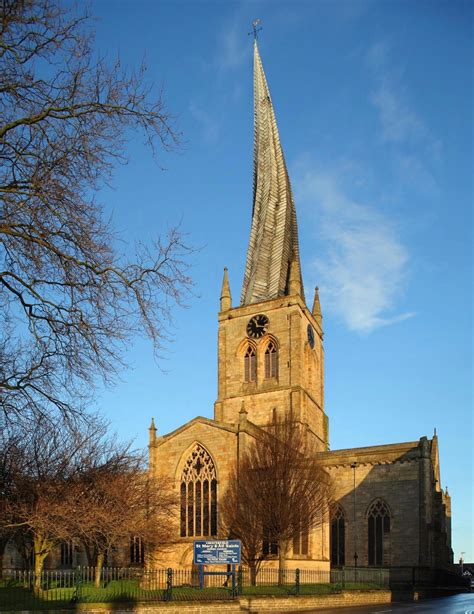 chesterfield parish parish church  st mary   saints