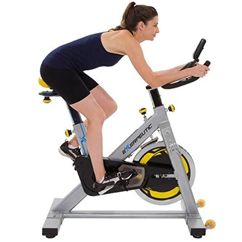 exercise bike with laptop exerpeutic lx905 training cycle with computer and heart