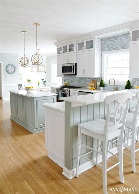Spring Family Room and Kitchen Tour   Sand and Sisal