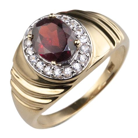 I S Images Ring by Columbus S Garnet Ring Timepieces International