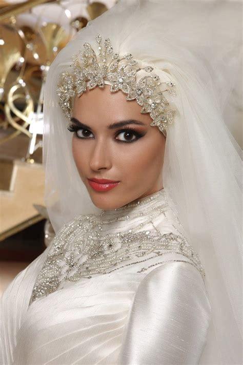 bella naija nikah modest and islamic bridal hijab with veil hijabiworld