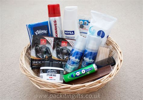 bathroom baskets for weddings wedding bathroom basket for your male guests to keep