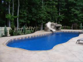 Inground Pool Patio Designs deck patio drainage for inground swimming pools 101