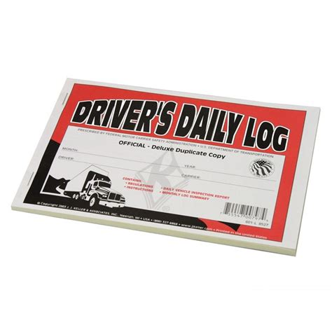 driver books driver s daily log book with simplified dvir