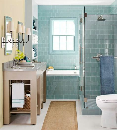 Blue Bathroom Ideas by Kleines Bad Welche Wandfarben W 228 Ren Passend